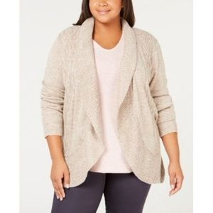 Karen Scott Women's Size Cocoon Cardigan Sweater